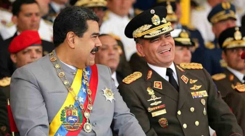 Featured image: Venezuelan President, Nicolas Madduro with his Minister for Defense, General Vladimir Padrino Lopez. File photo.