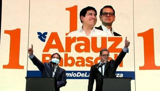 Correista presidential candidate in Ecuador, Arauz is the favorite to win elections in Ecuador