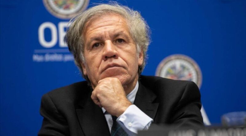 The Secretary General of the Organization of American States (OAS), Luis Almagro. (Photo: AFP)