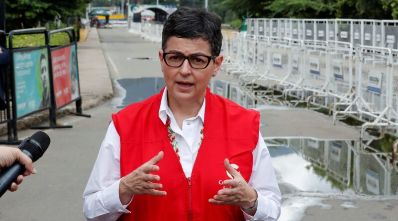 Featured image: Spain's minister for foreign affairs in Cucuta, border between Venezuela and Colombia paying respect for Venezuelan migrants while absolutely neglecting millions of fellow Africans dying every day in the Mediterranean see due to European Union racist migration policies. File photo courtesy of ABC.