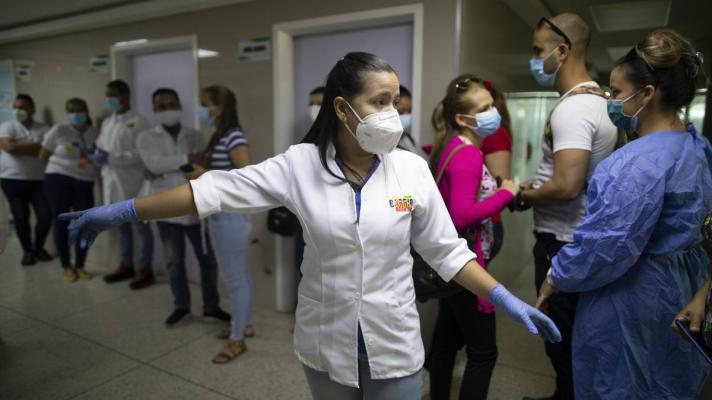 The Government of Venezuela implements measures to stop the spread of covid-19. File photo by AP.