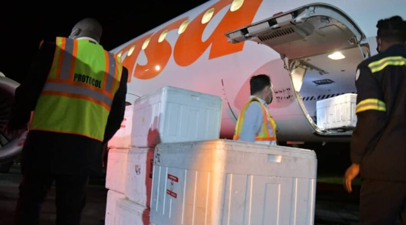 Featured image: Venezuelan state airline Conviasa supports ALBA-TCP in the delivery of anti Covid-19 vaccines donated by China to member countries. In this occasion to the island of Dominica. Photo courtesy of Minister Jorge Arreaza (@jaarreaza)