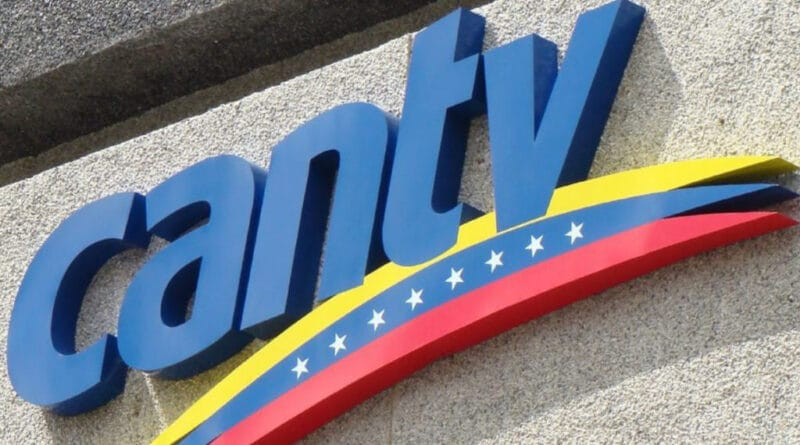 Featured image: CANTV logo. File photo.