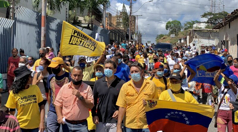Featured image: Venezuelan opposition politician, Carlos Ocariz from extreme right Primero Justicia party is preparing the ground for governor elections in Miranda state less than 2 months after calling for abstention under alleged lack of democratic conditions. Photo courtesy of @CarlosOcariz.