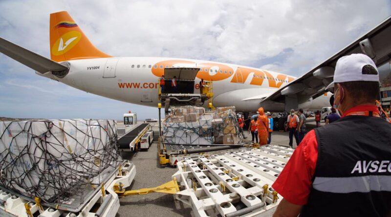 Second shipment of Sputnik V vaccines already in Venezuela to continue mass vaccination. Photo courtesy of MPPRE.