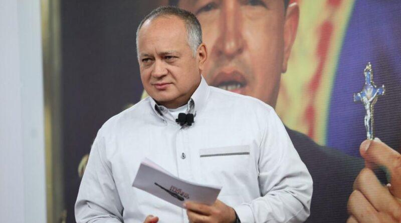 Featured image: Venezuela's PSUV vice president, Diosdado Cabello. Photo courtesy of Con el Mazo Dando.