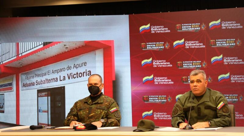 Featured image: Venezuelan Minister for Defense, Vladimir Padrino and Commander Remigio Ceballos during a press conference last Saturday, March 27, explaining the nature of the attacks from Colombian paramilitary protected by Colombian authorities. Photo courtesy of Prensa FANB.