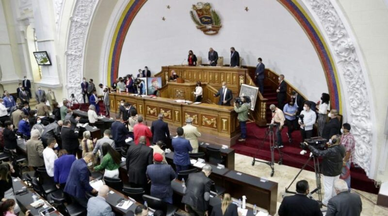Featured image: Venezuelan National Assembly floor. File photo.