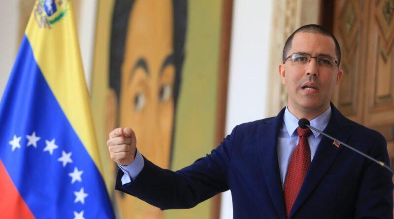 Featured image: Venezuelan minister for foreign affairs, Jorge Arreaza. File photo.