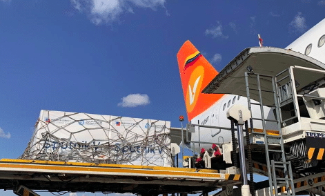 Featured image: Second shipment of Sputnik V vaccines arriving in Venezuela on Monday, March 29, to continue the mass vaccination plan. Photo courtesy of MPPRE.