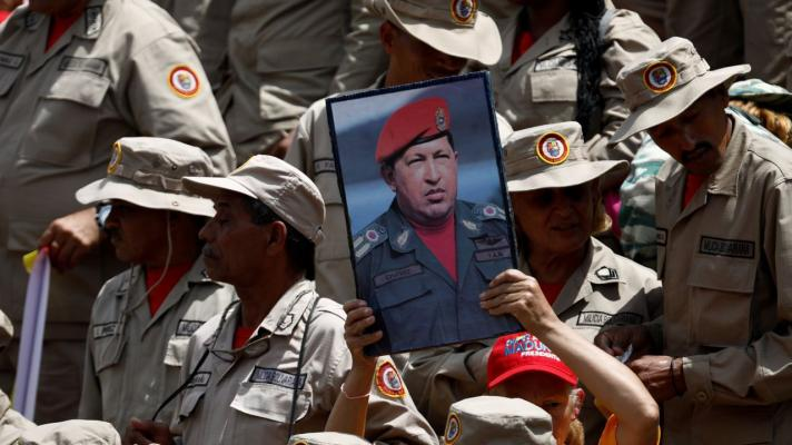 Featured image: Hugo Chávez is living in us (Photo: Marco Bello).