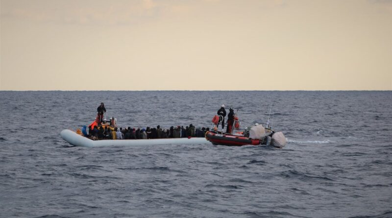 Featured image: Migrants wearing life jackets on a rubber dinghy are pictured during a rescue operation by the MSF-SOS Mediterranee run Ocean Viking rescue ship, off the coast of Libya in the Mediterranean Sea, February 18, 2020. Many of them are not lucky enough to be rescue while European countries look the other way. Photo by Reuters.