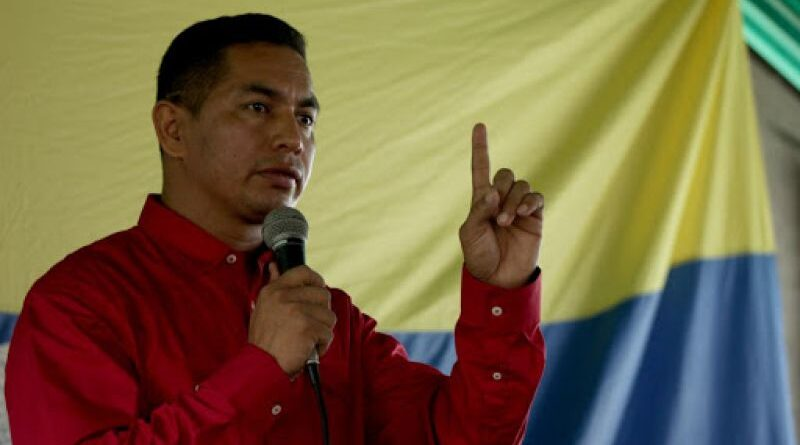 Featured image: Mayor Jose Maria Romero of La Victoria, Apure state, Venezuela. File photo.