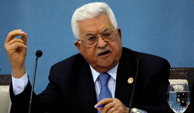 Palestinian President Mahmoud Abbbas is walking back his decision to hold elections. With Jerusalem as a pretext, he hopes to hold on to power, without the inconvenience of seeking popular legitimacy. Credit: Mohamad Torokman/Reuters.