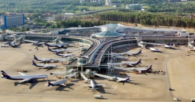 Featured image: Sheremetevo Airport in Moscow. FIle photo.