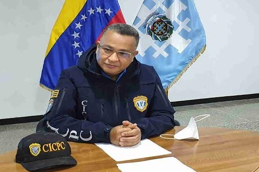 Douglas Rico, director of the Scientific, Criminal and Criminal Investigations Corps (CICPC)