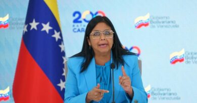 Featured image: Maduro's administration present trough its Vice President Delcy Rodriguez in the Ibero-American Summit this Wednesday, April 21, disregarding all the complaints of right wing governments. Photo courtesy of Prensa Presidencial.