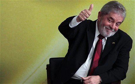 Featured image: Lula da Silva, Brazil's president from 2003-2010, is ahead in the polls for the 2022 presidential election. File photo.