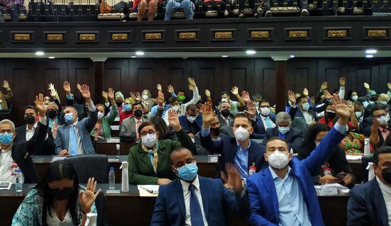 In image the plenary session of the Venezuelan Parliament. Photo: Wilmer Errades