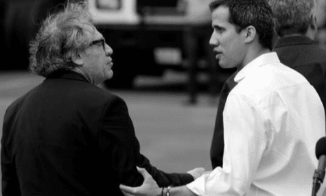 Almagro and former deputy Guaido in Cucuta (Colombia) during the fake humanitarian operation on February 2019. Photo courtesy of RedRadioVE.
