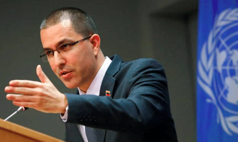 Featured image: Venezuelan Foreign Affairs Minister, Jorge Arreaza. File photo.