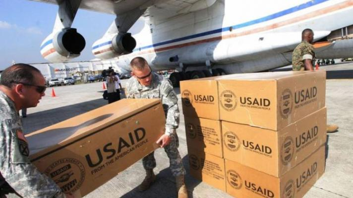 "Featured image: USAID preferred to ""distribute"" the humanitarian aid with Venezuelan NGO of doubtful origin, instead of the UN, because it was related to Washington's interests in Venezuela (Photo: Reuters)."