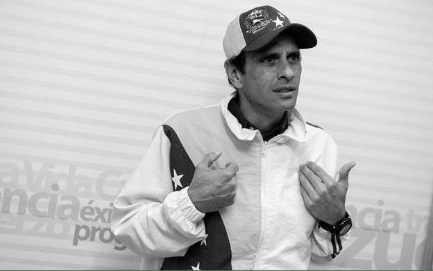 Anti-Chavista Enrique Capriles enraged anti-Chavismo for not having fun with Aristobulo Isturiz death. File photo.