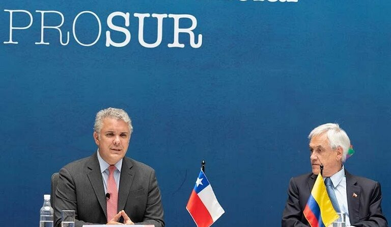 Featured image: Prosur was devised by Piñera and had the support of Duque to opposed UNASUR following US directions, not there is no UNASUR neither PROSUR and the gringos are happy. File photo.