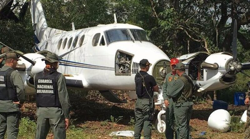 Featured image: Venezuelan authorities seize and neutralizes narco jets on a regular basis. File photo.