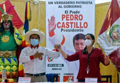 The Left Unites in Peru: Pedro Castillo Gains the Support of Verónika Mendoza