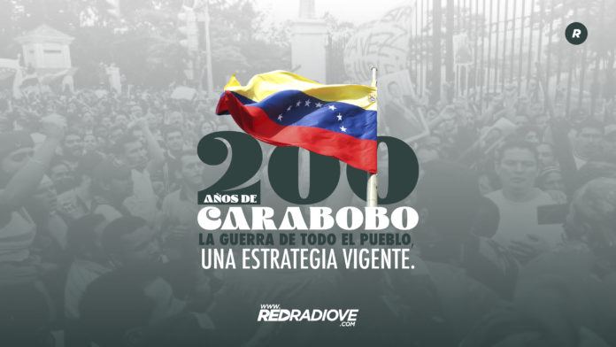 Featured image: Photo composition on the Battle of Carabobo Bicentennial celebration. Photo courtesy of RedRadioVE.