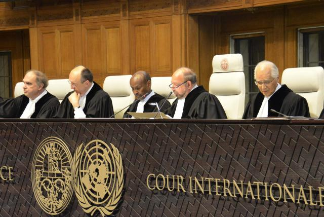 Featured image: ICC magistrates in session. File photo courtesy of EFE.