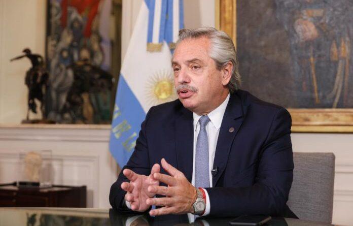 Featured image: Argentinian President Alberto Fernandez. File photo.