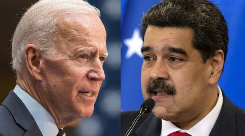 Featured image: President Maduro and President Biden. File photo.