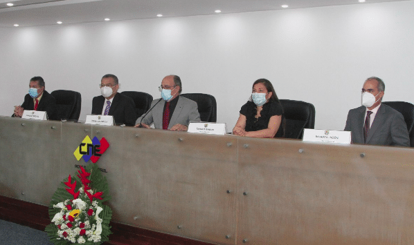 New Venezuela's electoral authorities inaugurated this Wednesday, May 5, 2021. Photo courtesy of RedRadioVE.