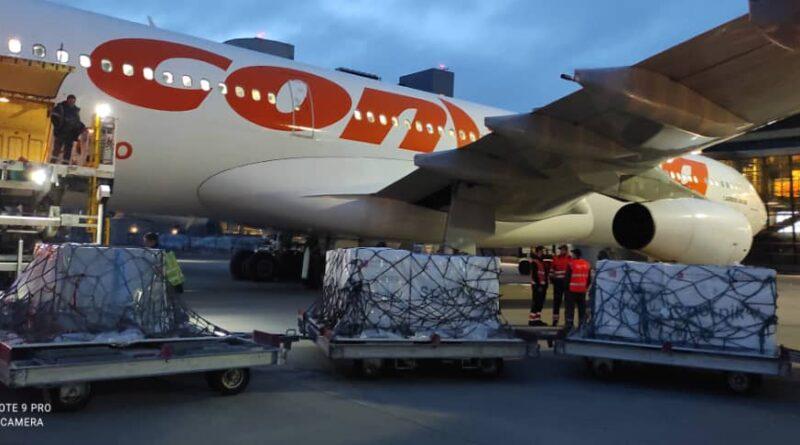Featured image: Sixth Sputnik V shipment arrives in Venezuela on May 3, 2021. Photo courtesy of @sputnikvaccine.