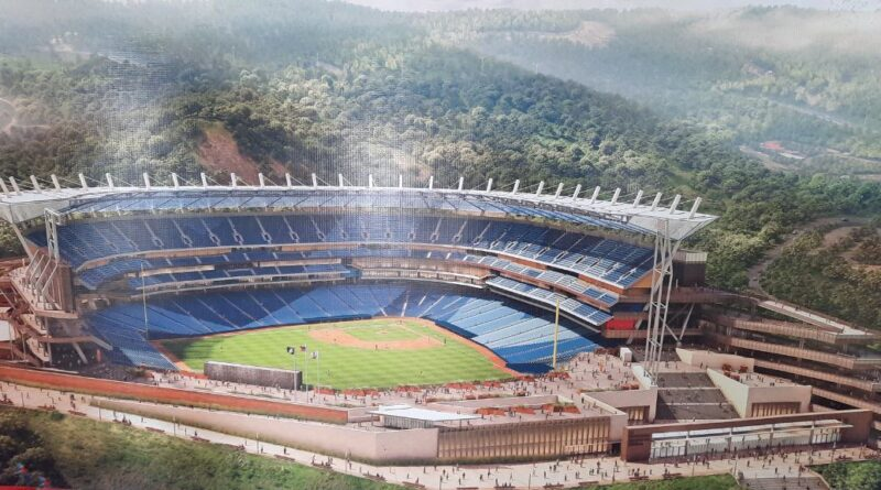 Featured image: An image of the expected final view of the Hugo Chavez stadium in Caracas. Photo courtesy of @gestionperfecta .
