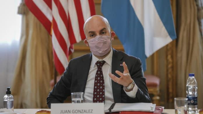 Featured image: Joe Biden's advisor for Western Hemispheres Affairs, the Colombian-American Juan Gonzalez. File photo.
