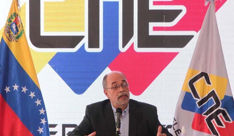 Featured image: Pedro Calzadilla the president on Venezuela's electoral authority (CNE). Photo courtesy of Ultimas Noticias.