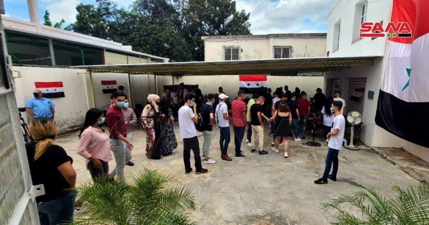 Voters in Cuba. Photo by SANA.