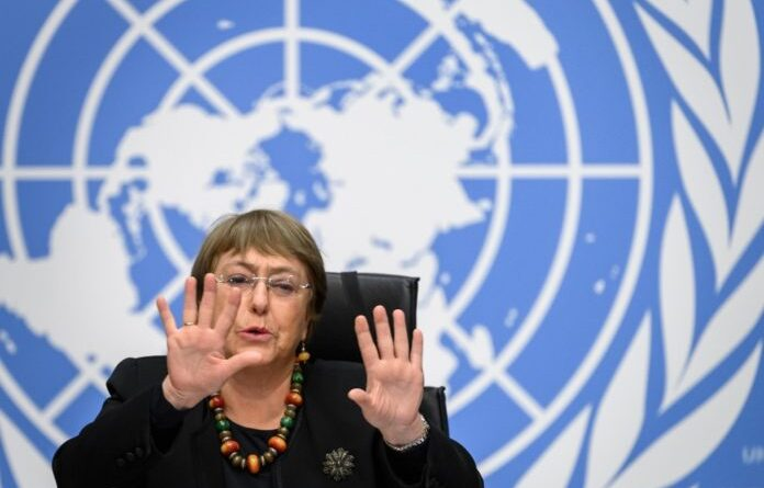 Featured image: UN High Commissioner on Human Rights Michell Bachelet. File photo.