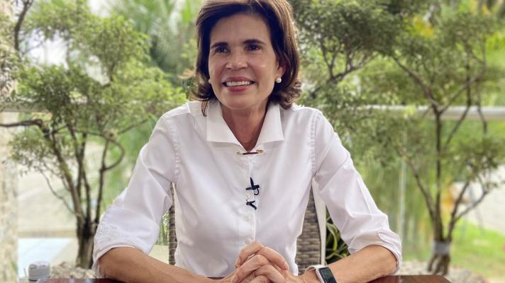 Featured image: The opposition Cristiana Chamarro has to render an account to the Nicaraguan government for the millions of dollars that her foundation received from the United States. File photo.