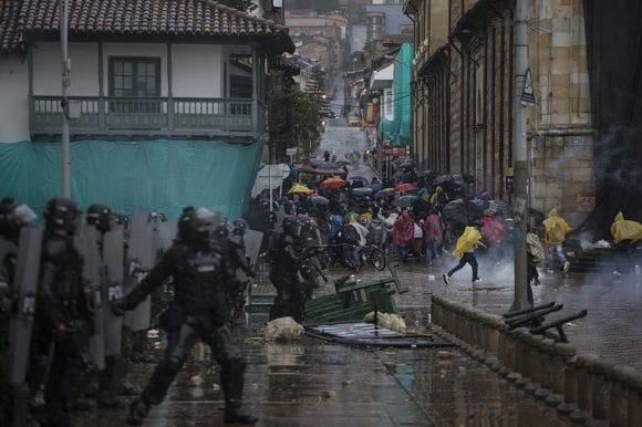 Demonstrations across Colombia started April 28. Photo: Iván Valencia / El País