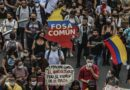 Featured image: Hundreds of millions of unarmed Colombians has been protesting peacefully for the last week and have only receive police repression and human rights violations from Ivan Duque's government. File photo.