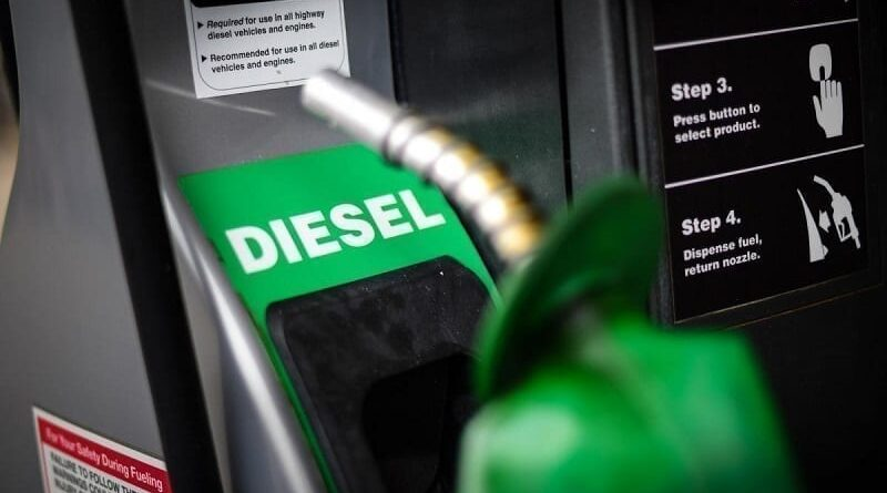 Featured image: Diesel pump machine. In Venezuela diesel scarcity have been felt since early 2021 due to the tightening of illegal US sanctions. File photo.