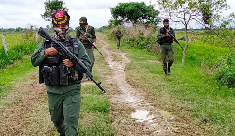 FANB soldiers in Apure