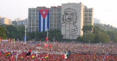 The Importance of Being in the Plaza of the Revolution on May 1
