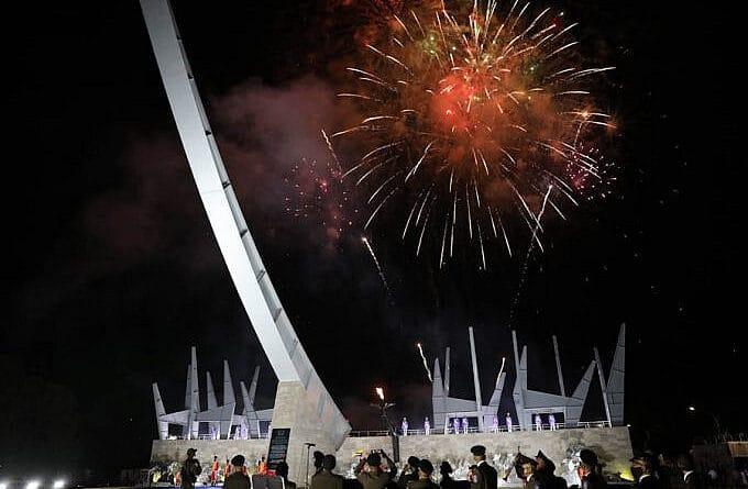 New Battle of Carabobo monument. Prensa presidencial.
