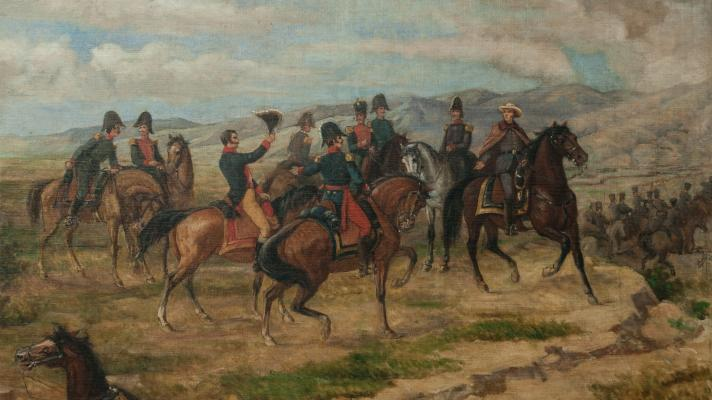 Featured image: Sketch for the Battle of Carabobo, by Martín Tovar y Tovar (Photo: National Art Gallery).