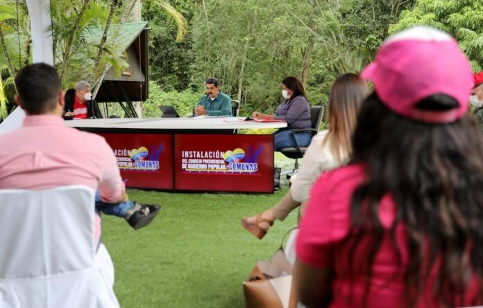 Featured image: Venezuelan President Nicolas Maduro during a working meeting broadcast in public TV. Photo courtesy of Prensa Presidencial.